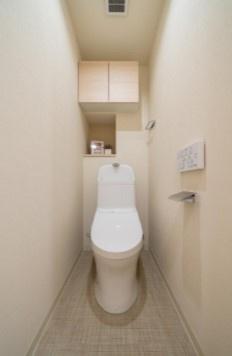 サンハイツ亀戸のトイレです。
