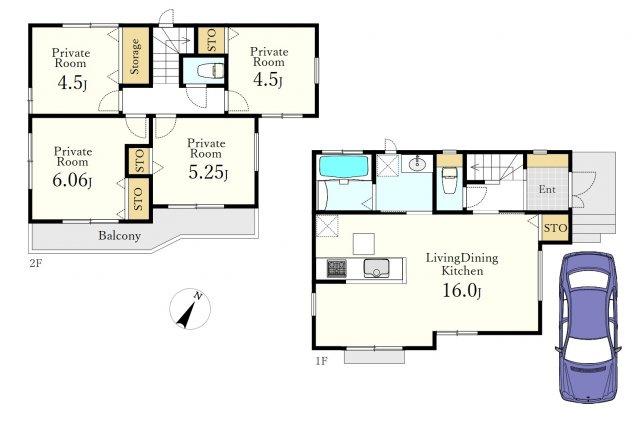 建物面積85.28㎡ 建物価格1048万円