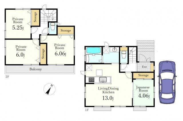 建物面積83.21㎡ 建物価格1022万円