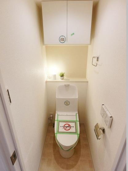 トイレも新規交換につき快適です