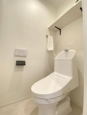 マイキャッスル新宿落合のトイレです。