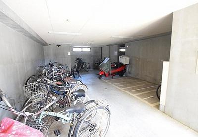 マイキャッスル新宿落合の駐輪場です。