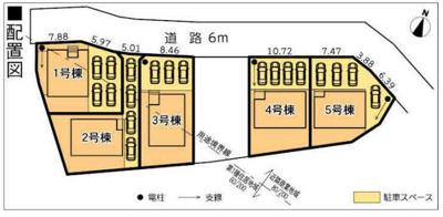 【区画図】富士宮市小泉 17期 新築一戸建て 3号棟 AN