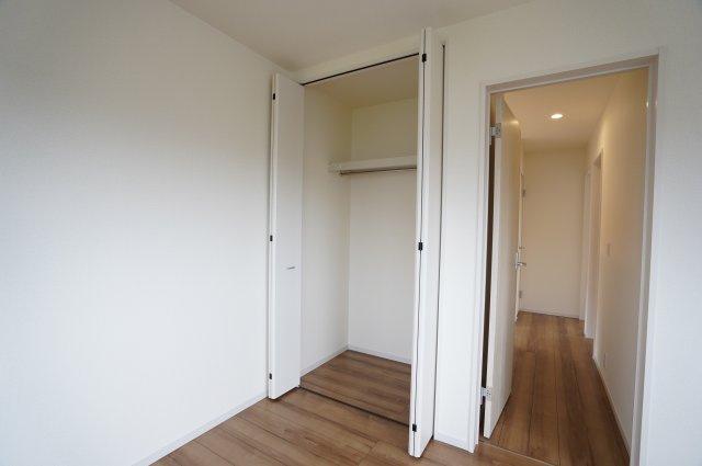 【同仕様施工例】2階 使い勝手が良くてすっきり片付けられ快適なクローゼットです。