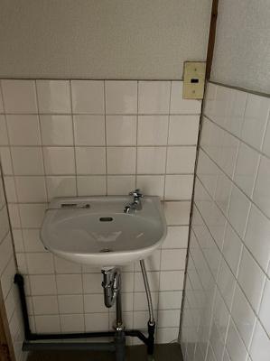 【洗面所】赤間アパート