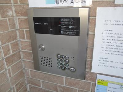 【セキュリティ】マリーナ帝塚山