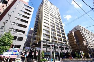 平成21年築、総戸数122戸のタワーレジデンス