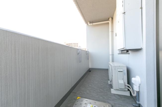 【バルコニー】ヴェルデコート西新宿