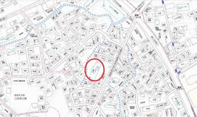 【地図】シティマンション春日