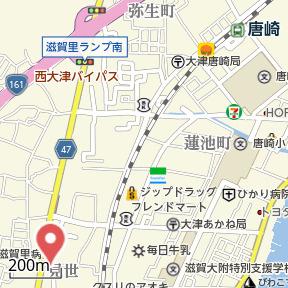 【地図】SMILE CASA