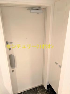 【玄関】ヴィータローザCQレジデンス練馬富士見台