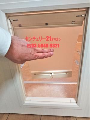 ワンちゃん専用ミニチュアドアです