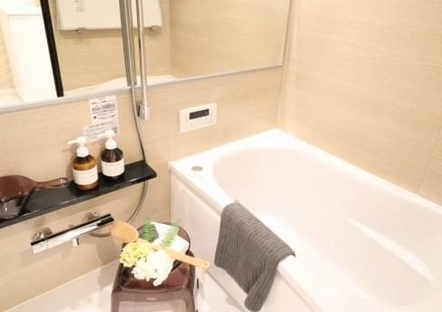 【浴室】県ドリームハイツ17号棟