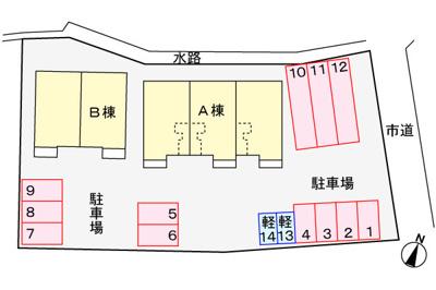 【区画図】グレイスB