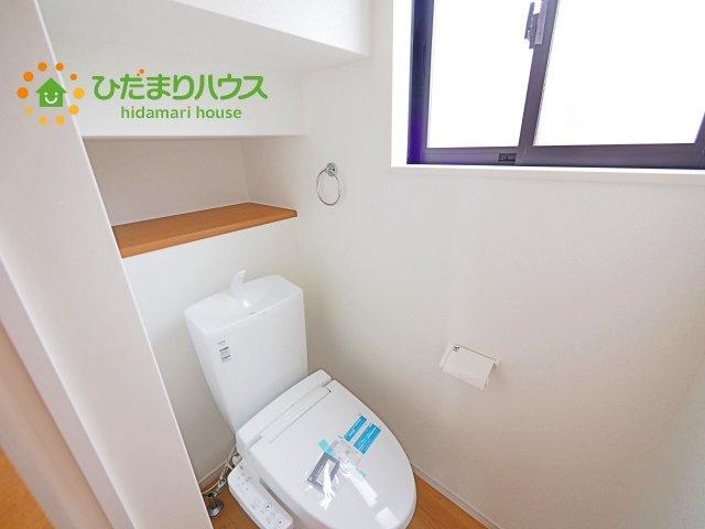1,2階トイレ完備