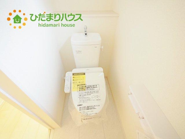 家計に優しい節水仕様のトイレです(^^♪
