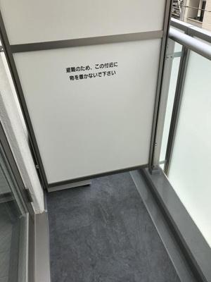 【バルコニー】トレステラレジデンス入谷