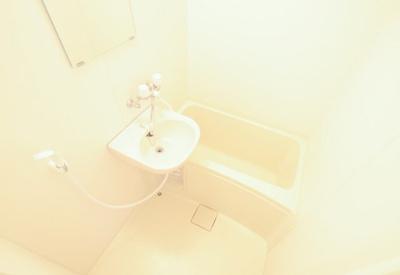 【浴室】レオパレスパラシオ