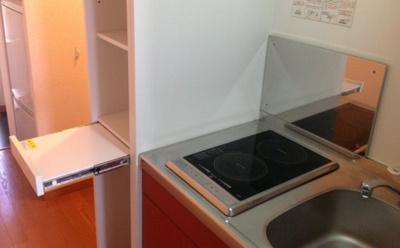 【キッチン】レオパレス後城