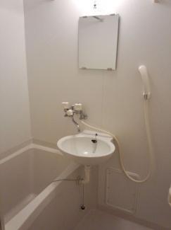【浴室】レオパレスミルフィーユ