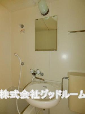【洗面所】レオパレス小比企