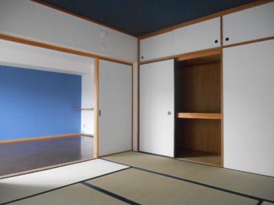 【寝室】レガシィ白楽
