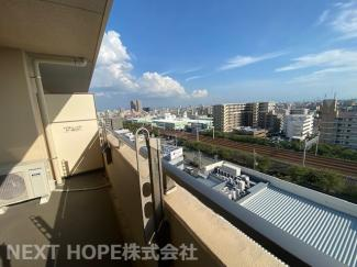 最上階の10階部分からの眺望です♪周囲の目線も気になりません!素敵な眺望です!