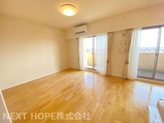 LDKは約16.6帖のゆとりの空間です♪ぜひ素敵な室内を現地でご確認ください(^^)お気軽にネクストホープ不動産販売までお問い合わせを!!