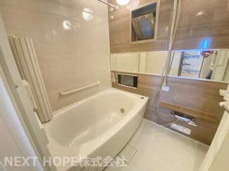 浴室です♪浴室乾燥機付きで雨の日のお洗濯物の心配もいりません!