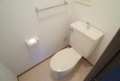 【トイレ】シャムロックコート西岡本
