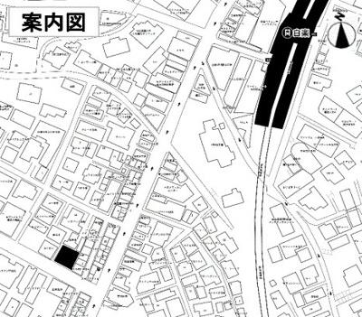 【地図】白楽駅徒歩3分 新築一棟貸店舗・事務所