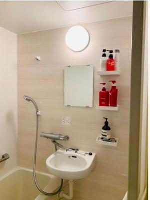【浴室】港区六本木 3階 区分事務所