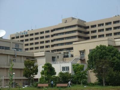 山口大学病院まで3300m
