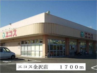エコス金沢店まで1700m