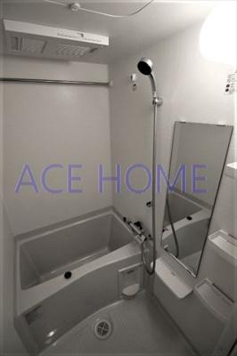 【浴室】グランカリテ日本橋Ⅱ