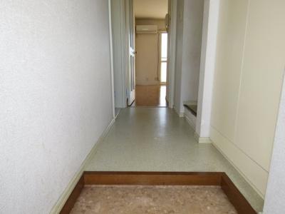 【玄関】カスミパークホームズB