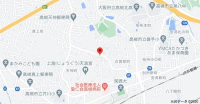 【地図】マンション陸央 (株)Roots