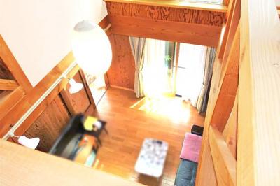 2階のホールから見下ろせる吹抜け部分はお洒落♪間取りなどに余裕のある暮らしが実現します。
