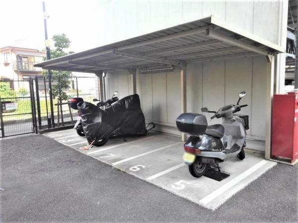 【駐車場】クリオ衣笠フィルソーレ