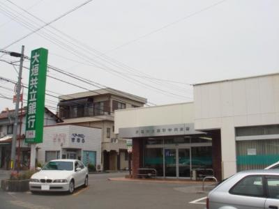大垣共立銀行中川支店まで1,493m