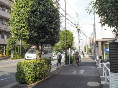 イプセ新宿若松町の周辺です