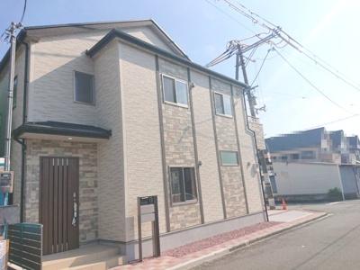 阪堺線「東湊」駅 徒歩3分!2021年7月完成!南西・北西角地に佇む、即入居可の4LDKの住まい♪