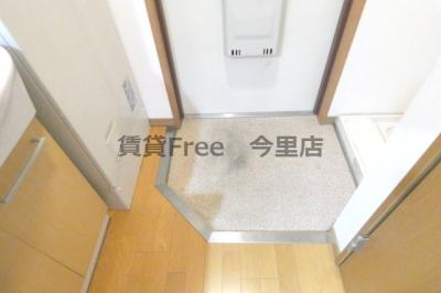 【玄関】ロータリー今里 仲介手数料無料