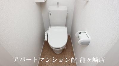 【トイレ】ヴィラ・エレガントα