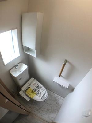 【トイレ】葛飾区新宿2丁目新築戸建て【全3棟】