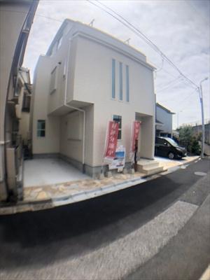 【外観】葛飾区新宿2丁目新築戸建て【全3棟】