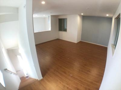 【居間・リビング】葛飾区新宿2丁目新築戸建て【全3棟】
