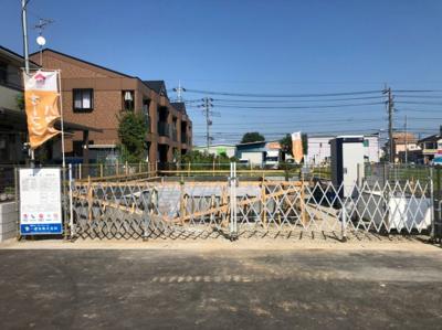 【外観】八潮市西袋新築戸建て