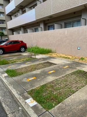【駐車場】クレール三国ヶ丘