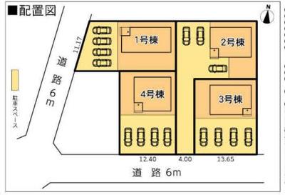 【区画図】静岡市清水区三保松原町 新築一戸建て 1号棟 AN